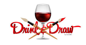 Logo DrinkAndDraw by GBS