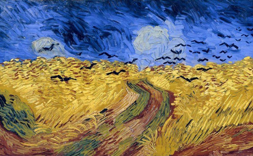 3 Винсент Ван Гог «Вороны над пшеничным полем»