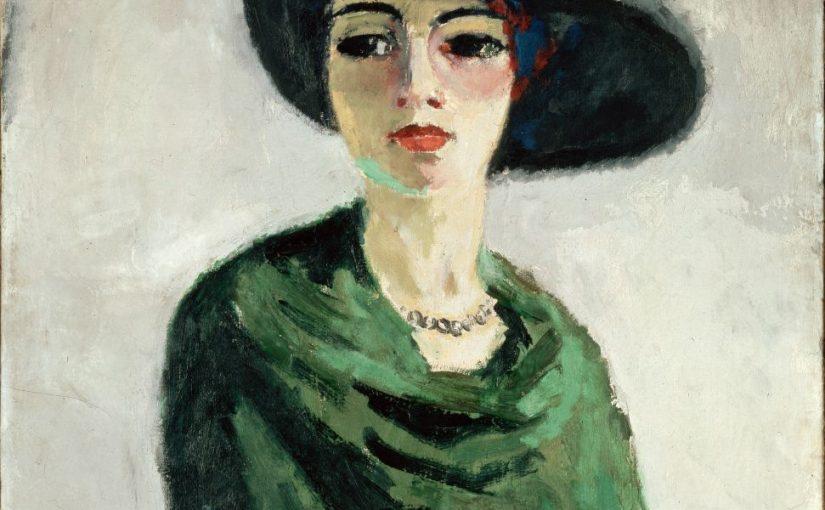 женщина_в_черной_шляпе